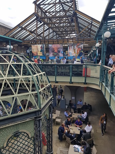 Tobacco Dock is a great venue, weather permitting