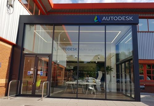 Quick stop at Autodesk Birmingham
