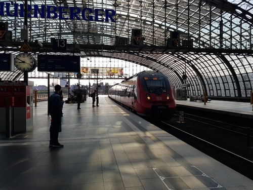 Train travel in Berlin