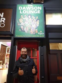 Brian at the Dawson Lounge