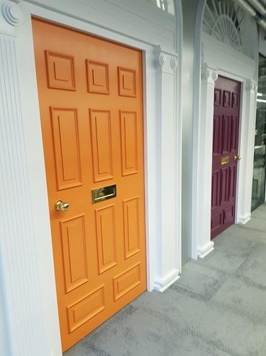 Conference room doors