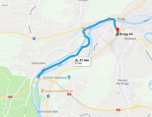 Day 6 - Villnachern to Brugg