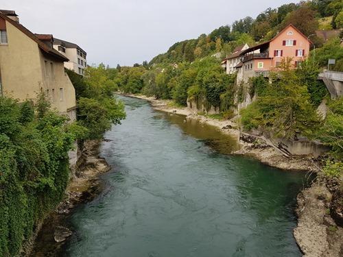 The Aare in Brugg