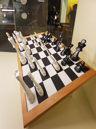 The actual board