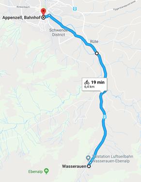 Day 9 - Wasserauen to Appenzell