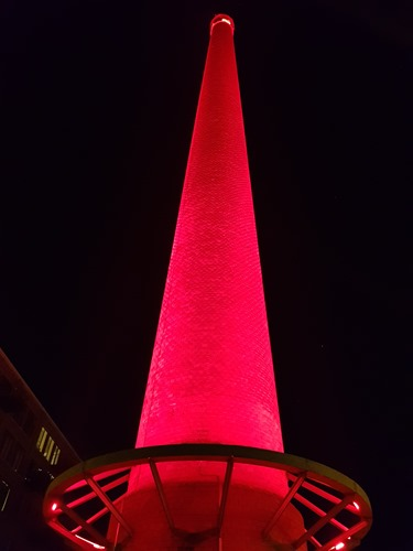 Big red tower