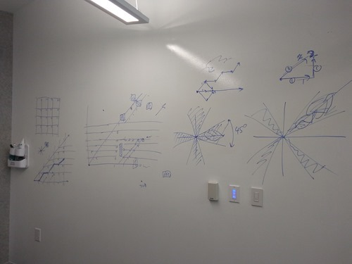 Whiteboarding isovist implementation