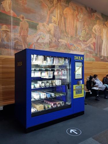 IKEA vending machine in Neuchatel