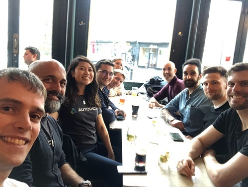 A first meeting with Dynamo Hackathon participants