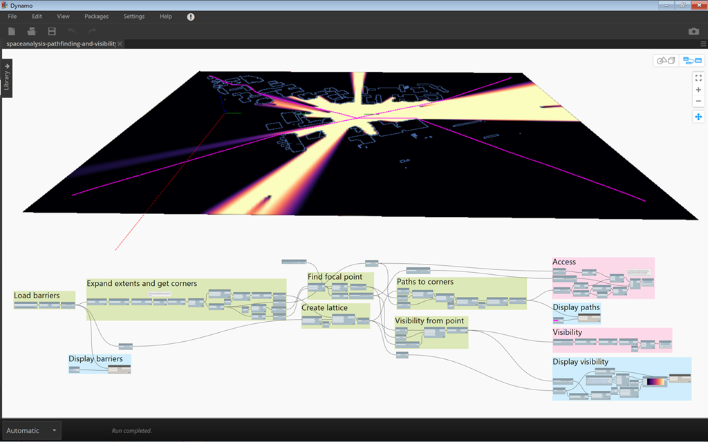 Using Refinery to optimise a Dynamo graph using Space Analysis for