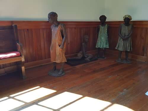 Statues of the Whitney Children