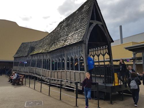 The Hogwarts bridge section