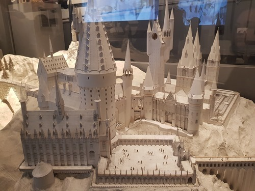 Architectural model of Hogwarts