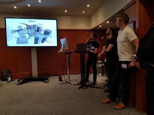 Hack 'n' Roll's presentation