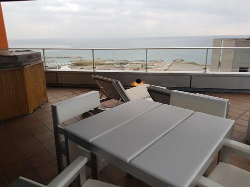 My suite's balcony
