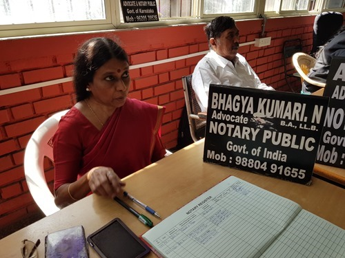 Our notary