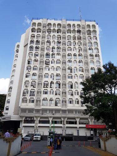 Bangalorean apartment building