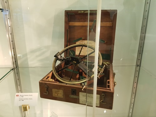 A maritime sextant