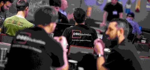 Activity at a DBEI Hackathon