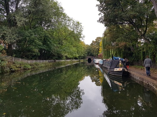 The river in Islington