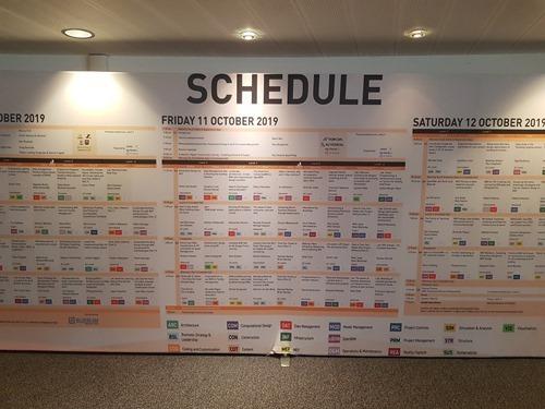 BILT Europe schedule