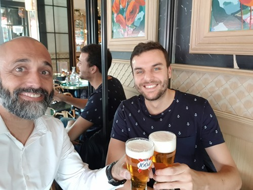 Cheers to Mostafa