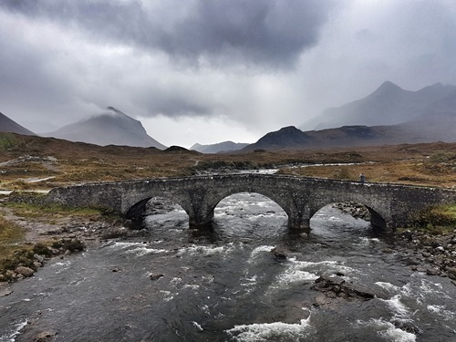 The bridge at Sligachan