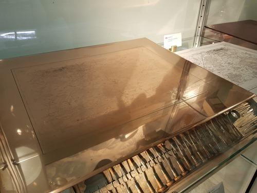 Engraving copper