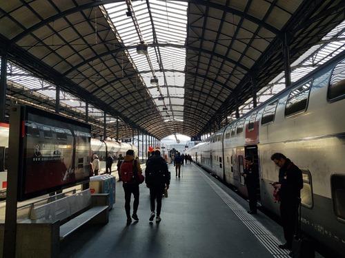 Leaving Luzern