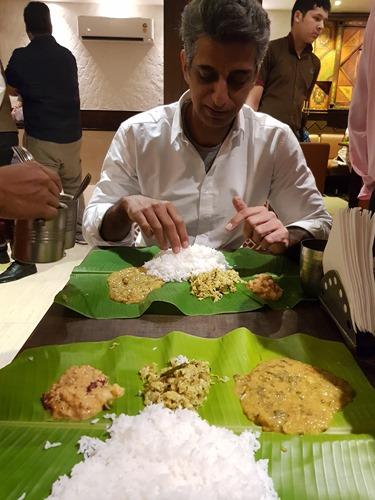 Lunch at Nagarjuna's