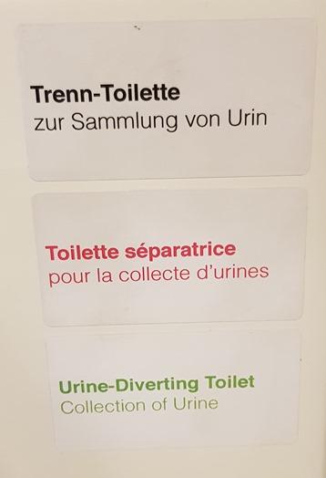 Urine-Diverting Toilet