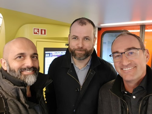 Kean, Brian and Reto