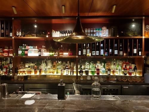 The bar at Dishoom