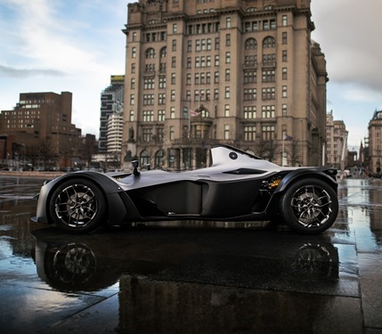 Side view of the Mono