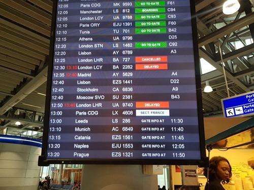 Delays at GVA