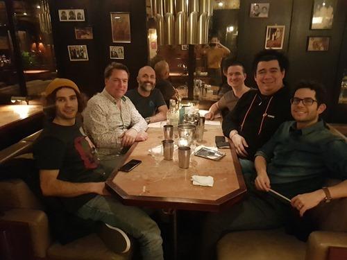 The last evening's dinner