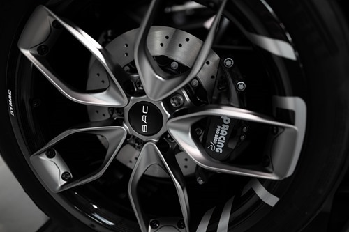 The new BAC Mono's wheel