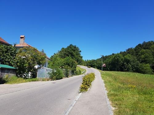 The slope at Portalban