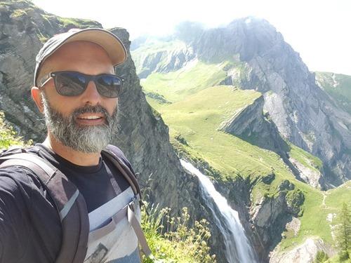 Selfie by the Engstligenfalle