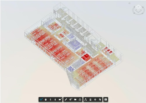 BIM-to-DEVS point cloud