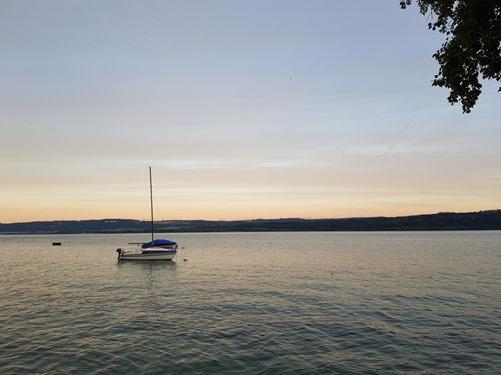 The lake at Grandson