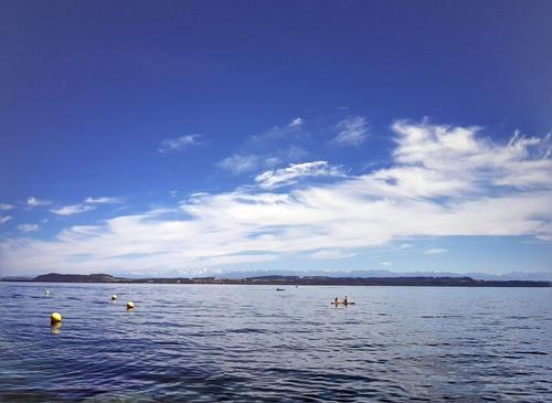The lake from Neuchatel