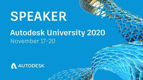 AU 2020 speaker banner