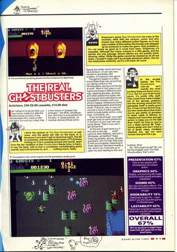 The Real Ghostbusters review