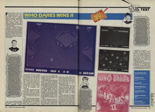 Who Dares Wins II review
