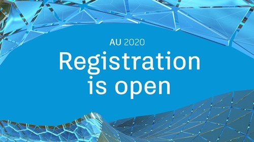AU 2020 registration is open