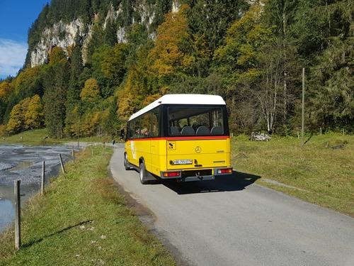 A postal bus