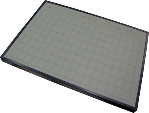 Concept keyboard touchpad