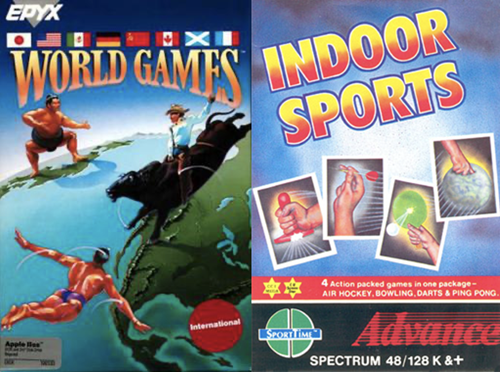 World Games and Indoor Sports cover art
