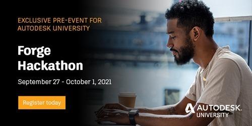 Forge Hackathon at AU 2021